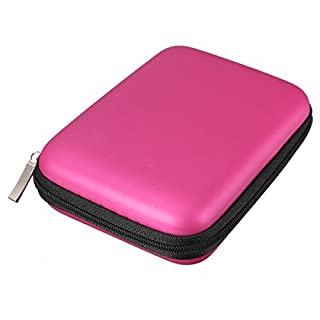 Angelo Caro(TM) Tough Case with Zip for Portable Hard Drives (2.5 Inches)