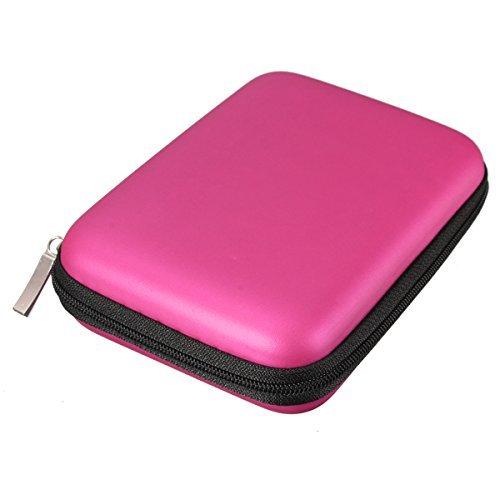 Angelo CaroTMFunda rígida cremallera disco duro portátil