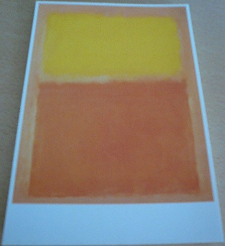 Mark Rothko - Orange and Yellow - 10 x 15 cm Postkarte -