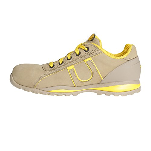 Diadora Glove S3-Hro-Sra Scarpe Antifortunistiche, Unisex Adulto Grigio (Grey and Yellow)