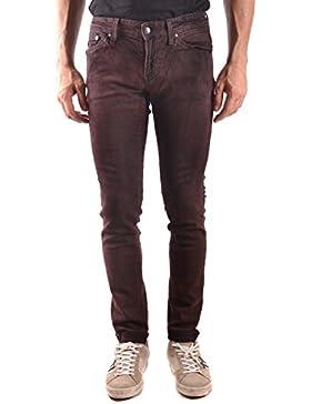Meltin'pot Hombre MCBI340097O Burdeos Algodon Jeans