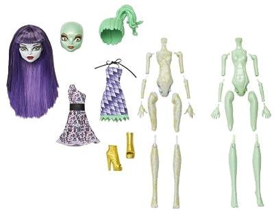 Monster High BGR34 - Juego de creación de muñecas (chica momia y gorgon) por Mattel