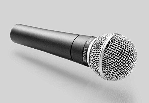 Shure SM58-LCE dynamisches Profi-Mikrofon, Richtcharakteristik: Niere, inklusive Etui und Halterung - 2