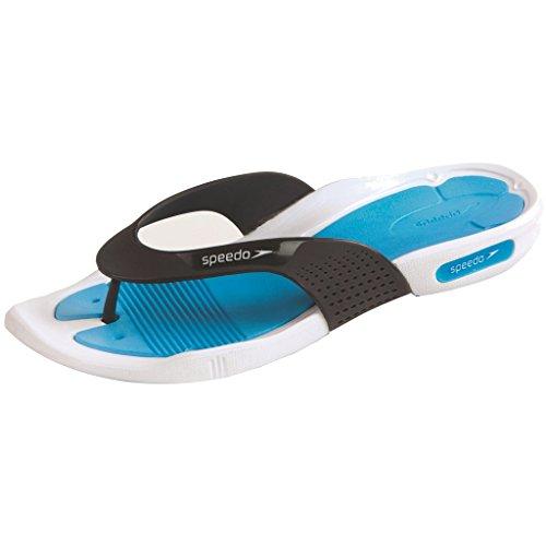 Speedo Pool Surfer Thg Af Sandali da Spiaggia Bianco/Azzurro/Grigio Ossido