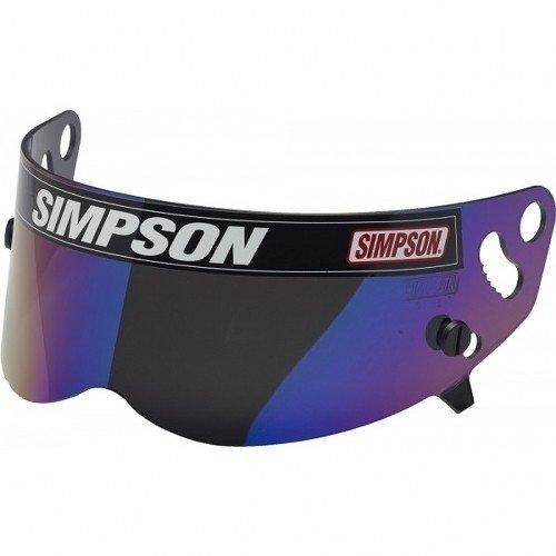 Simpson 62-89402 Super-Bandit Iridium Metalized Schild