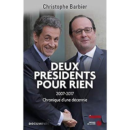 Deux présidents pour rien (DOCUMENT)