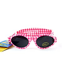 BanZ UV Protection Sunglasses (Pink Check)