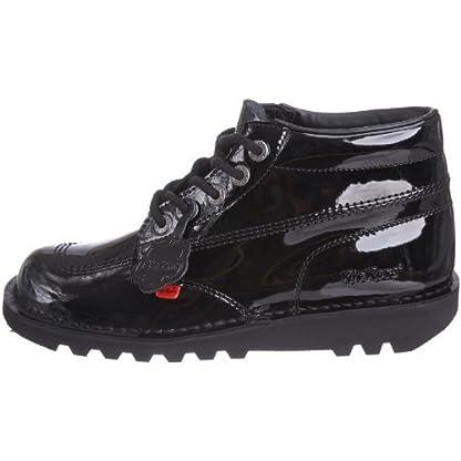 Kickers Women's Kick Hi' Ankle Boots, Black (Black Patent), 8 UK 5