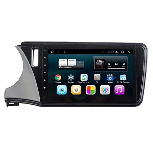 TOPNAVI 10.1Inch Auto Navigation GPS pour Honda Greiz 2015 2016 2017 2018 Android 7.1 Stéréo Navigation GPS Radio WiFi 3G RDS Lien Miroir FM AM BT Audio Vidéo