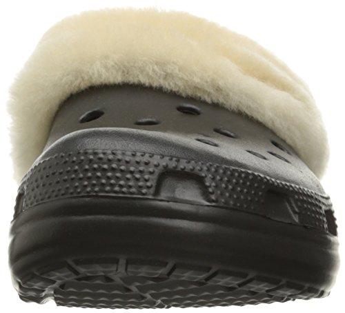 CROCS Schuhe - CLASSIC MAMMOTH LUXE CLOG - black Black/Black