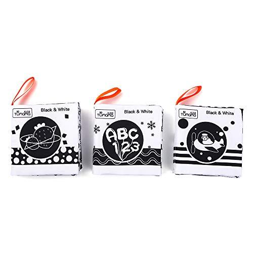 homese tumama baby tuch buch weiche bücher white & black lernform verkehr tier zahlen alphabet obst vor dem schlafengehen lesen frühe pädagogische aktivität spielzeug geschenke für kleinkinder