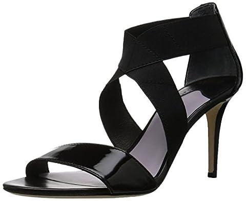 Johnston & Murphy Women's Felicity Dress Sandal, Black, 9.5 M US