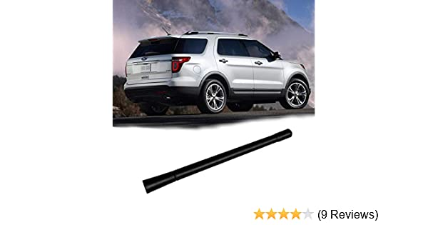 VOFONO Radio Antenna Compatible with 2008 to 2018 Ford Focus Fusion Flex Fiesta Explorer C-Max Lincoln MKT Flexible Rubber