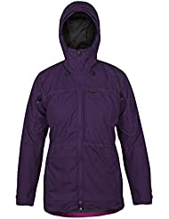 Paramo Directional Clothing Systems Alta III chaqueta impermeable de la mujer, mujer, color Elderberry/Fox Glove, tamaño small