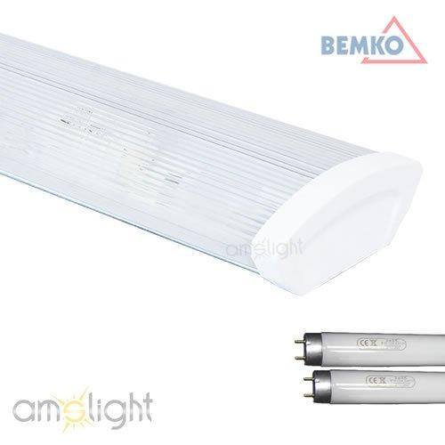 Büroleuchte XP7 von Bemko 2x36W incl. 2 x Leuchtstofflampen 6400 (Opal Leuchtstofflampe)