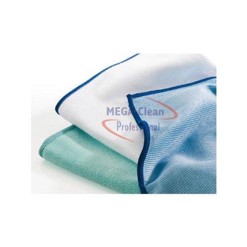 Preisvergleich Produktbild MEGA Clean Mikrofaser Polier- & Glasreinigung 50x70 grün 1 Stück M074 / 1