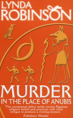Book cover for Murder in the Place of Anubis