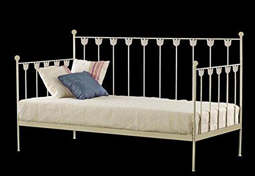 Sofa-Cama de forja Mod. TULIPAN de 201X100X96cms.