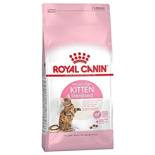2x 400g Royal Canin Chaton stérilisé complète Chat Nourriture Vendu par Maltby de