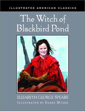 Book cover for The Witch of Blackbird Pond