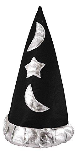Cappello da mago per bambini, accessorio per costumi da mago merlino o per pesca di bigliettini