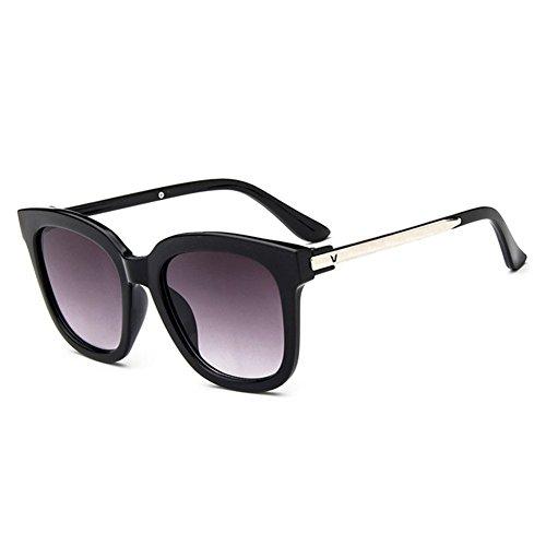 Z-P Vintage Wayfarer Radiation Reflective UV400 Color Film Sunglasses 53MM