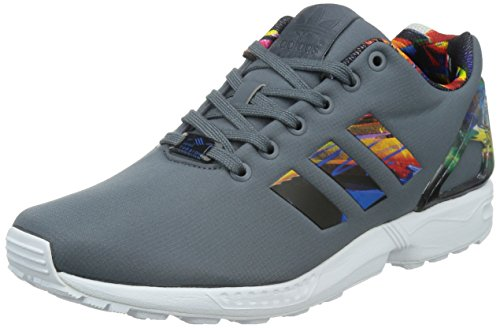 adidas Zx Flux, Chaussures de Fitness mixte adulte Grigio/Multicolor