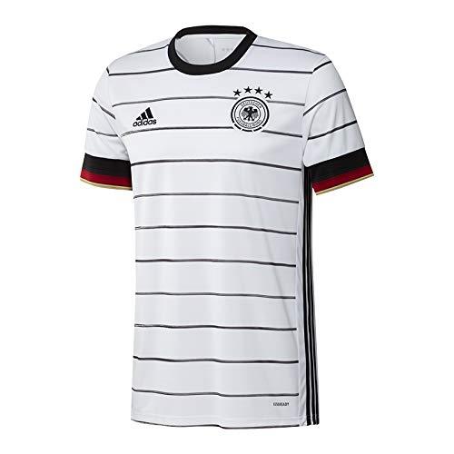 adidas Herren DFB H JSY T-Shirt, White/Black, M