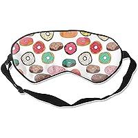 Bunte Donuts Schlafmaske für Reisen und Zuhause, niedlicher Schattierender Lidschatten preisvergleich bei billige-tabletten.eu