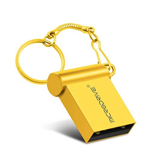 LJ2 Memory Stick, 8 GB / 16 GB / 32 GB / 64 GB USB-Flash-Laufwerk 2.0, Metallgehäuse, Lesegeschwindigkeit bis zu 18 m/s, wasserdicht, antimagnetisch/zur Datenspeicherung,A,32GB