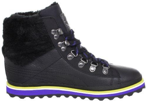 Puma City Snow Boot Fur femmes Cuir Boots / Chaussures - noir Black
