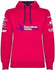 Barcelona Padel Tour Sudadera Mujer