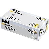 Neolab 8103 Neoprotect - Guantes de nitrilo (sin polvo, talla L, 100 unidades)