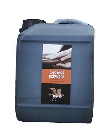 Lederöl, 2,5 L für alle Glattleder schwarz, Sattelzeug, Motorrad und Arbeitskleidung, Leather Oil