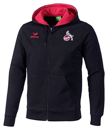erima Herren FC Köln Graffic 5-C Sweatjacke Jacke Schwarz/Rot M