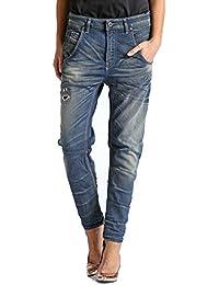 Diesel Fayza-NE 0604N Femme Sweat Jeans Boyfriend