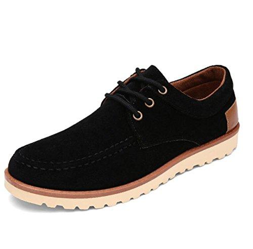 Inverno Uomini Più Cashmere Caldo Scarpe Di Cotone Versione Coreana Studenti Scarpe Casual In Cotone BlackShoes