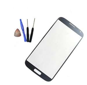Bleu Ecran Vitre Externe Glass Pour Samsung Galaxy S4 i9500 i9505 + Outil Kit