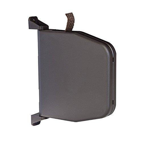Gurtwickler Aufputz Braun mit Scharniersystem incl. 5m Gurt Rolladen Aufschraubwickler aufklappbar Mini 14mm Gurtbreite für Rollladen Bayram (Gurtwickler Braun inkl. 5m Gurt)