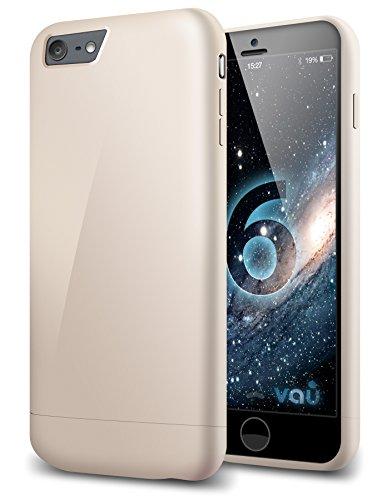 vau Snap Case Slider - golden gloss - zweigeteiltes Hard-Case für Apple iPhone 6 Handy Snap Case
