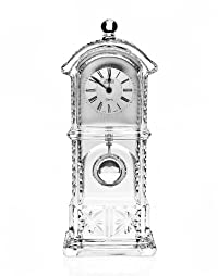 Godinger 2654 Lead Crystal Grandfather Clock