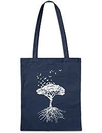 Urban Backwoods Yggdrasil Tree Logo VII Bolsas de la Compra Reutilizables Arsen Celtic Irminsul Tree Loki