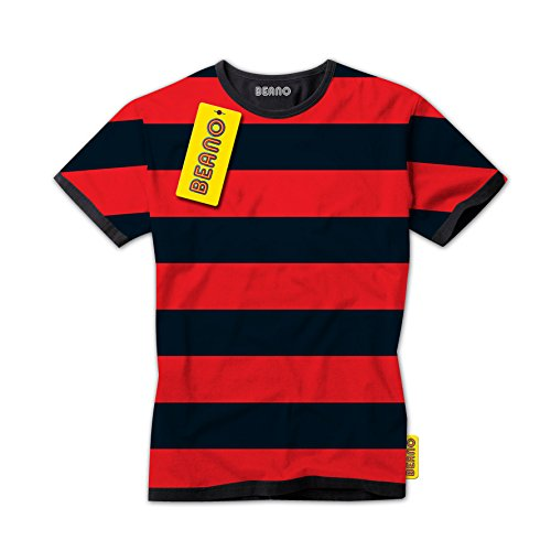 dennis-the-menace-red-and-black-striped-kids-t-shirt-official-beano-brand-t-shirt-10-12-years