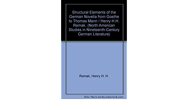 A Study of the Major Novellas of E.T.A. Hoffmann (Studies in