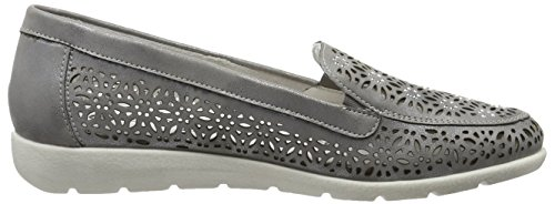 Remonte Damen D1918 Slipper Grau (steel/42)