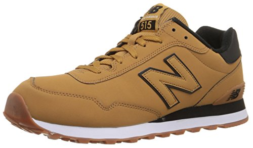 New Balance Mens 515 Winter Stealth Synthetic Trainers Braun