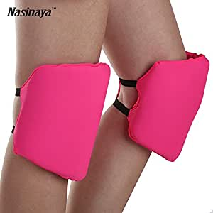Generic khaki color, XS 4 to 6 years old : Figure Skating Ice Skating Knee Protector Pad Sports Safety Supporter Protective Mat Protection 15mm Thick Curve Customized Size