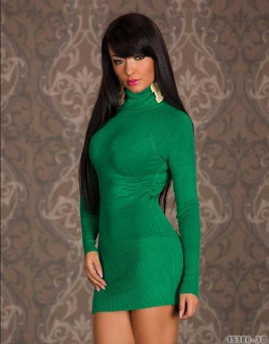 JELA London - Pull - Robe pull - Femme Taille Unique vert foncé