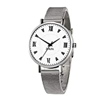 Brownrolly Watch Female Student Fashionable Waterproof Mesh Belt Watch