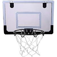 Aigend Mini Basketball Hoop - Sistema de Mini Tablero de Baloncesto de Interior Kit de aro de Baloncesto Aro de Baloncesto para niños Actividad Interior